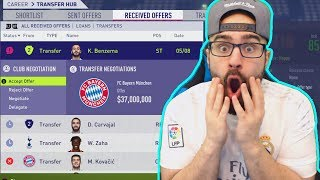 OMG HE SOLD! *$200,000,000 inc* - FIFA 18 Career Mode Real Madrid #05