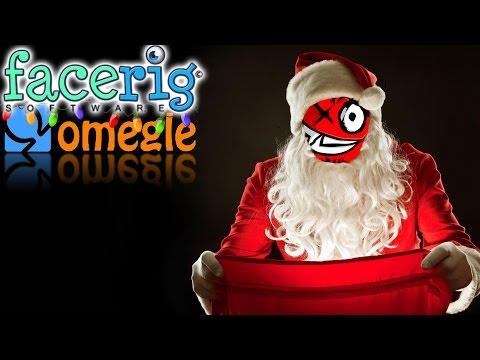 Omegle Trolling w/ Facerig! (Santa Edition) |