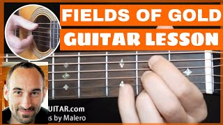 Fields Of Gold Guitar Lesson - part 1 of 11