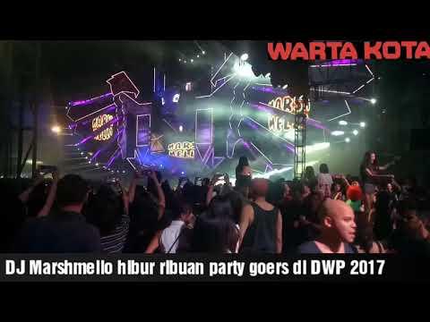 DJ Marshmello Meriahkan DWP dengan Bawakan Lagu 'Eta Terangkanlah..'