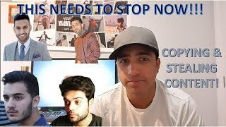 COPYING AND STEALING CONTENT | DUCKY BHAI | SHAM IDREES | ZAID ALI | SHAHVEER JAFRY | RAHIM PARDESI