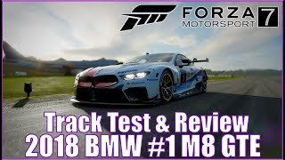 Forza Motorsport 7 2018 BMW #1 M Motorsport M8 GTE Track Test and Review