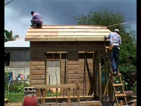 Hurricanes how to build a safer wooden house youtube - How to make a wooden house ...