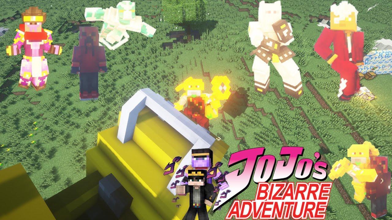 Za Warudo Time Stop, Stands, Road Roller y más || Review Mod HUAJI Jojo's Bizarre Adventure 1.12.2