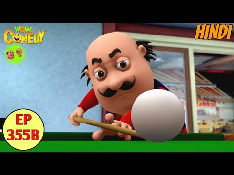 Motu Patlu 2019  Cartoon in Hindi Motu Ki Biliards 3D Animated Cartoon for Kids