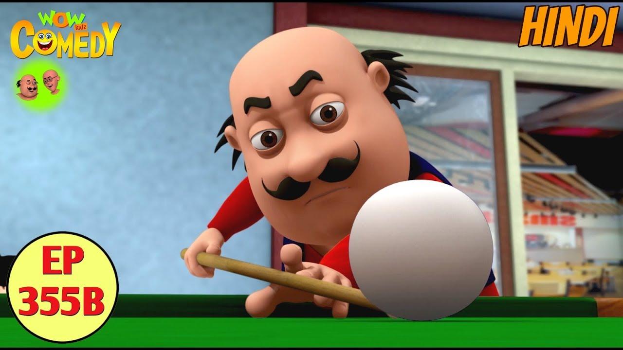 Download Motu Patlu 2019   Cartoon in Hindi  Motu Ki Biliards  3D Animated Cartoon for Kids