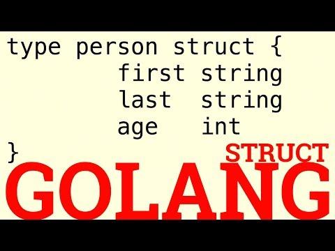 Golang Struct - YouTube