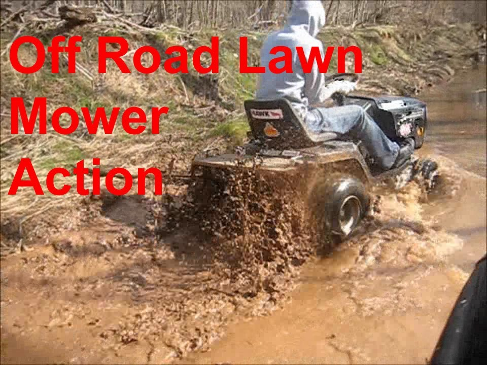 Mtd Mud Mower : Minutes of off road lawn mower action youtube