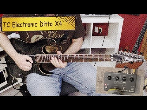 TC Electronic Ditto x4 Looper Review
