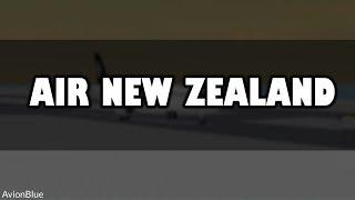 ROBLOX | Air New Zealand | A321 Flight