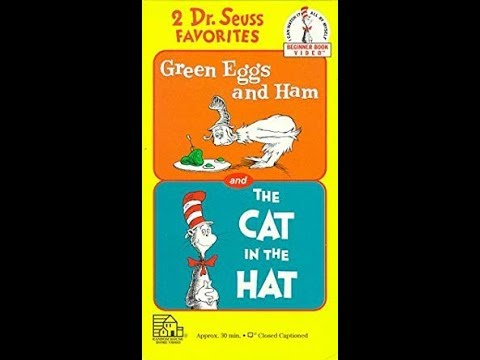 Opening And Closing To 2 Dr Suess Favorites Green Eggs And Ham And The Cat In The Hat 1994 Vhs