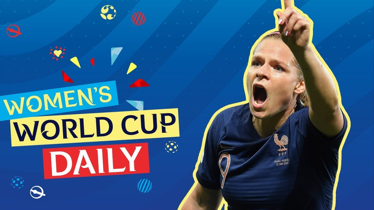 Le Sommer rescues Les Bleues   Women's World Cup Daily