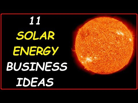 Top 11 Solar Energy Business Ideas (Profitable Small Businesses you can Start Tomorrow to Make Money