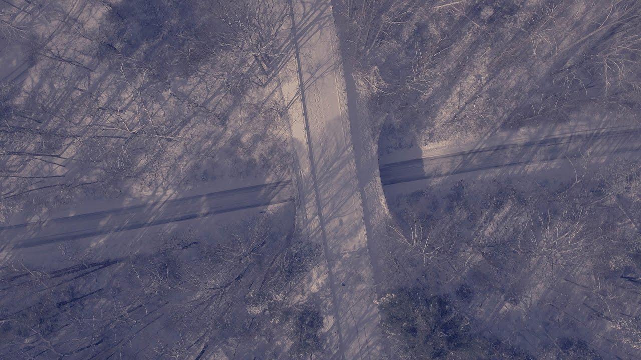 Cinematic Snow Storm Video =D - Blue Ridge Parkway / Appalachian Mountains, NC