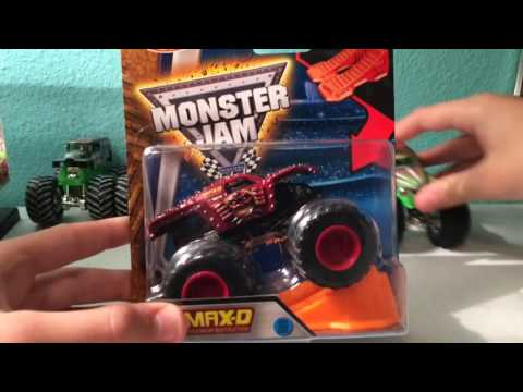 Opening 9 Monster Jam Trucks!!! Pirates Curse/Grave Digger/Soldier Fortune ETC.