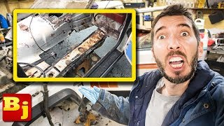 Replacing Floor Pans in the Comanche