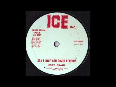 Eddy Grant - Say I Love You (Strakers Special Disco Version)