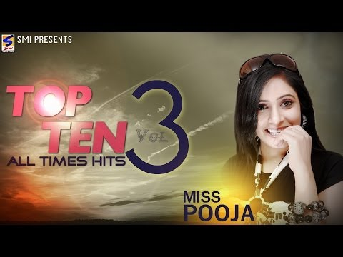 Miss Pooja Top 10 All Times Hits Vol 3 | Non-Stop HD Video | Punjabi New hit Song -2016