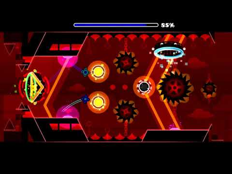 Geometry Dash - Hyperio Technia by ML500 (and others) (All Coins)