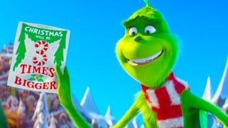 THE GRINCH Discovers Christmas Will Be 3 TIMES BIGGER!