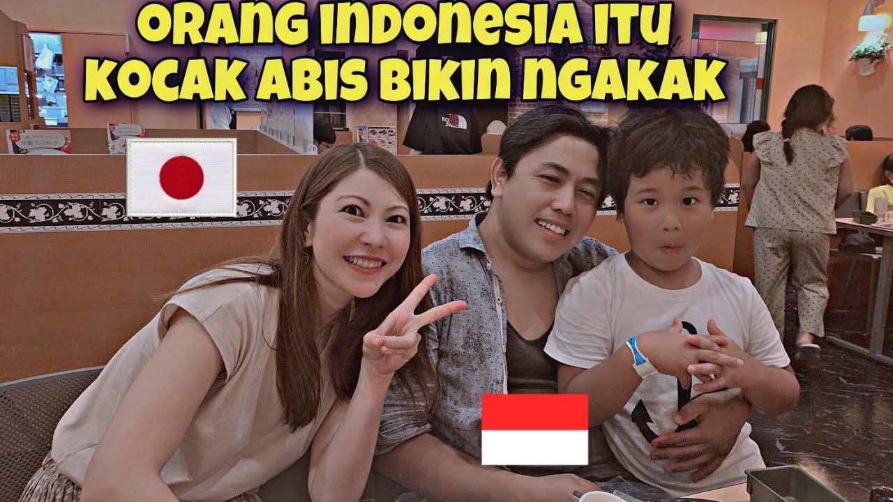 KOCAK ABIS BIKIN NGAKAK !!! INTERVIEW ORANG INDONESIA YANG MENIKAH DENGAN ORANG JEPANG