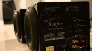 Sunfire True Subwoofer MK II Bass Test