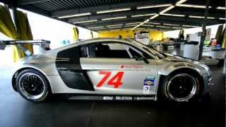 2013 ROLEX 24 Pre Race Audi R8 Racing GT walkaround HD