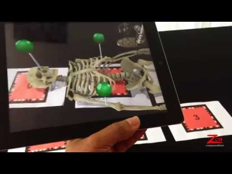 Skeletal System Augmented Reality App - Animation Services By Zco Corporation
