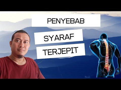 SYARAF KEJEPIT PART 5: Ciri, Dampak dan Cara Menyembuhkan Syaraf kejepit  2017.