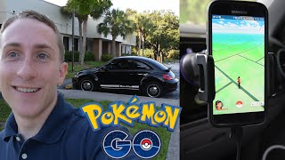 Pokemon Go Gameplay Vlog #4 | The ultimate driving setup to catch pokemon