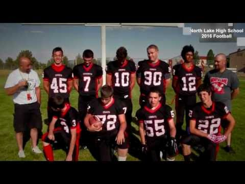 North Lake High School 2016 Football roster
