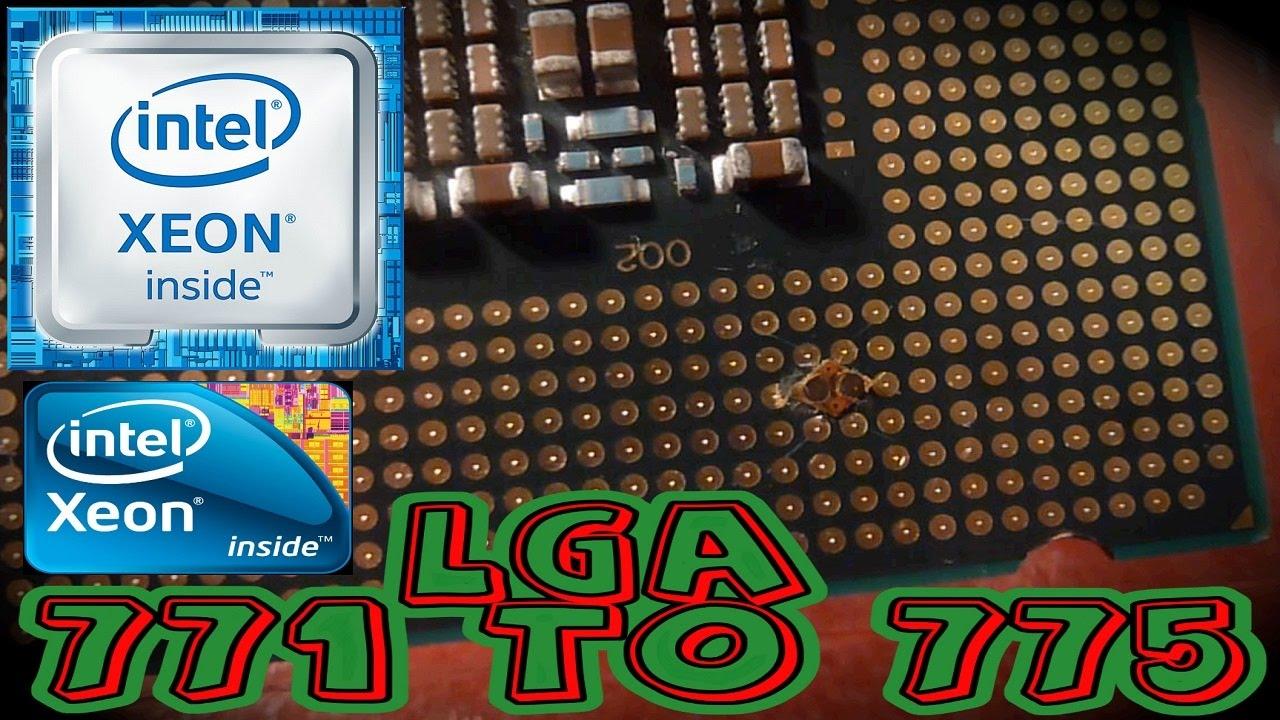 LGA 771 TO 775 Intel® Xeon® SOCKET INSTALLATION // X5460 X5470 X5472 E5450  E5440 ADAPTED ALIEXPRESS