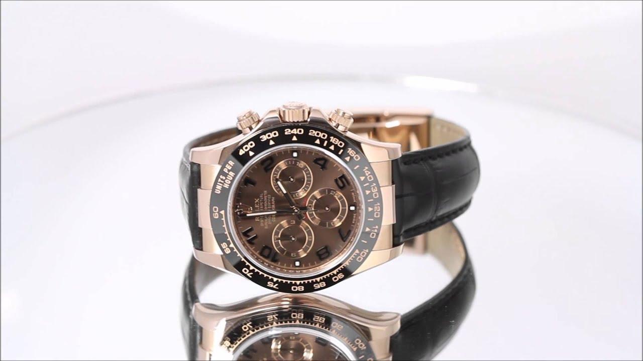 Rolex Daytona Gold Leather Strap