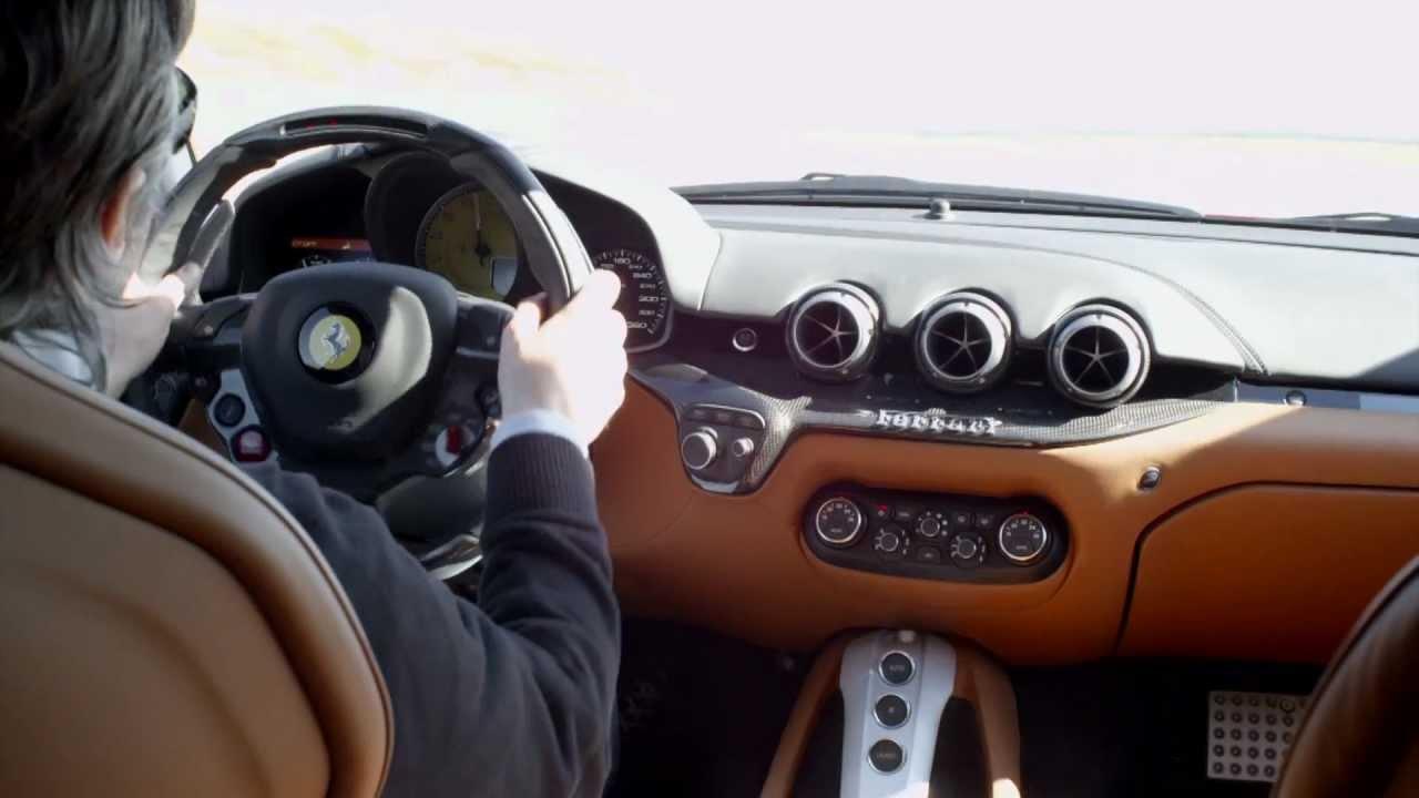 Ferrari F12 Interior >> Ferrari F12 Berlinetta Engine And Interior Youtube