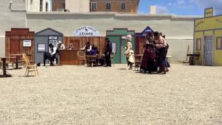 Whiskey Row Shootout Re-enactment 2016