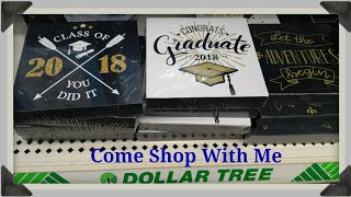 DOLLAR TREE Shop With Me |Spring GRADUATION FINDS AND DECOR 2018