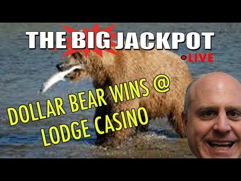 💸 Dollar Bear Wins at Lodge Casino 🐻 | The Big Jackpot