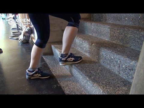 Ka-Chun winnaar van trappenloop Erasmus Universiteit