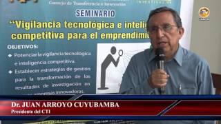 Tema: Seminario Vigilancia Tecnológica e Inteligencia Competitiva