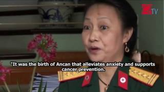 Channel O2TV broadcasted in Vietnam that Ancan is a healthy protective food