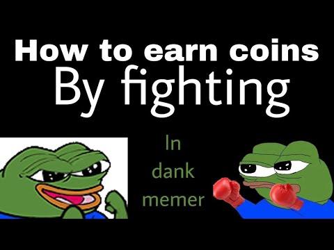 Get Rich By Fighting In Dank Memer