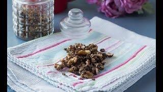 Granola de chocolate 🍫 l SIN AZÚCAR añadido