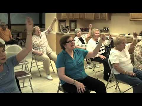 ZUMBA at the Allendale Community for Mature Living