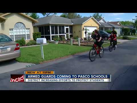 Parents react to district adding 50 armed security guards in Pasco County schools