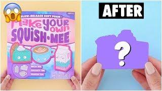MAKING AMAZING Slime, Squishies & Room Decor Using CHEAP $5 DIY KITS - Easy & Inexpensive!