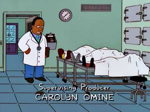 The Simpsons - Dr. Hibbert - Don't you go too far...