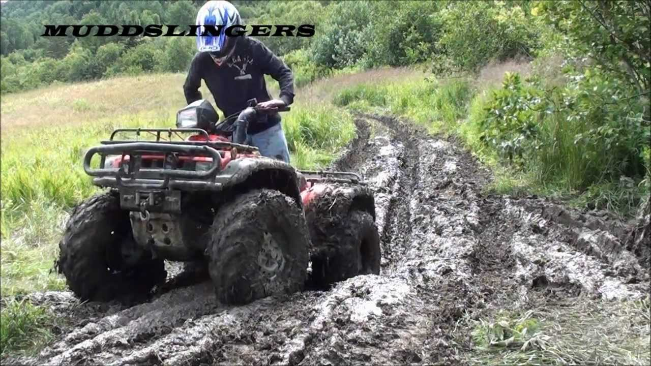 MUDDSLINGERS-Updated honda foreman - YouTube