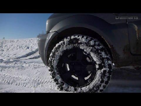 Suzuki Jimny Offroad - Driving in Snow