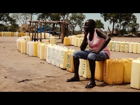 Every drop counts - South Sudan refugees struggle for water