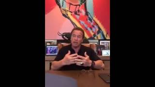 Arnold Schwarzenegger - Q&A about Maggie Movie - Enjoy the tour of my office